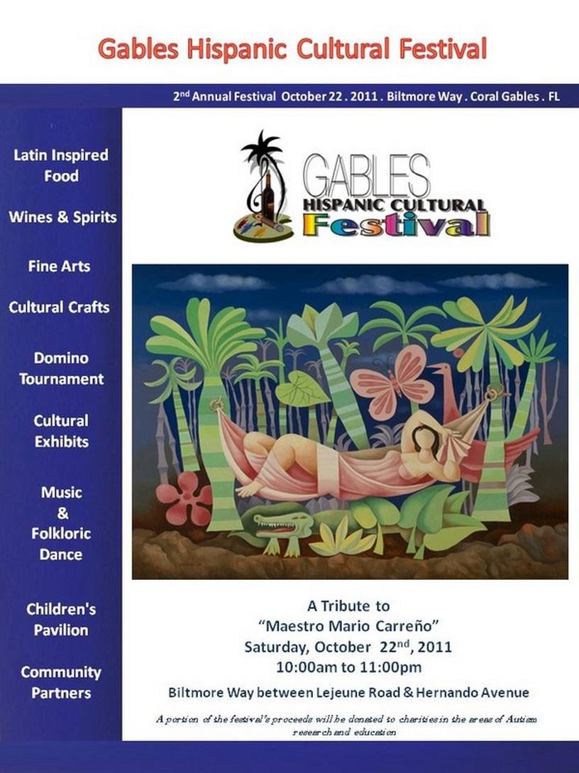 Coral Gables abre sus puertas a festival cultural hispano