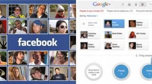 Facebook y Google +