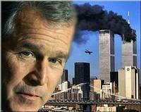 George W. Bush y las Torres Gemelas