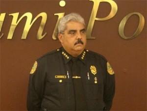 Miguel Exposito, Jefe Policia de Miami