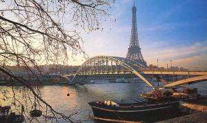 Paris visto desde el Sena