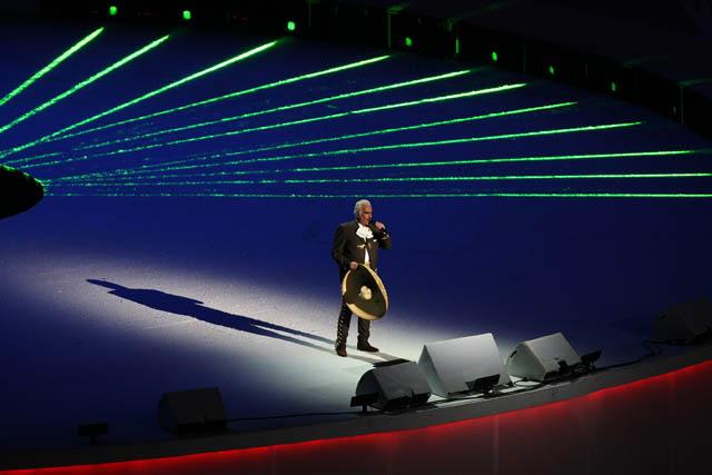 Vicente Fernandez en los Juegos Panamericanos 2011