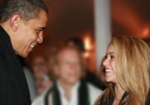 Obama y Shakira