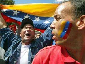Venezolanos protestan en Miami