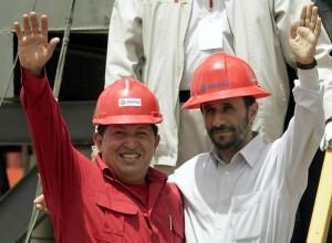 Chavez y Ahmadinejad en Venezuela