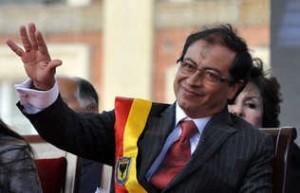 Gustavo Petro, alcalde de Bogotá