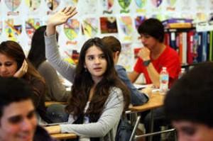 Estudiante hispana