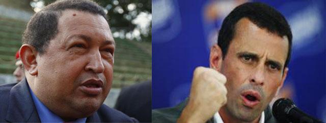 Chavez VS Capriles