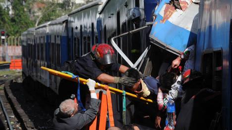 Tragedia ferroviaria en Buenos Aires