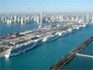 Reportan virus en crucero via al Sur de la Florida