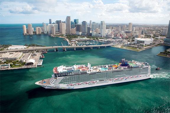 Puerto de Miami se convertirá en la capital mundial de los cruceros