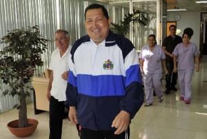 Chávez en Cuba