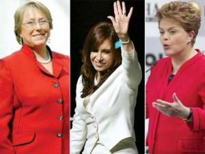 Mandatarias latinas