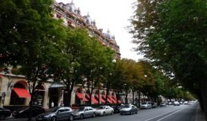 Tiendas de lujo en Paris