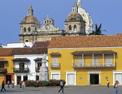 Plaza Florentino Ariza en Cartagena