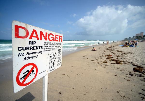 Mal tiempo en la Playa