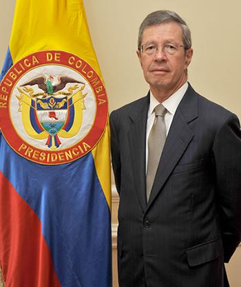 Juan Carlos Esguerra, Ministro de Justicia de Colombia