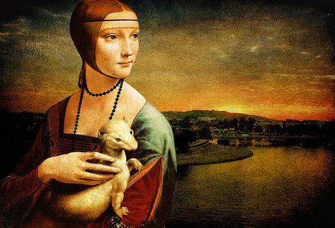 """""""La dama del armiño"""" de Leonardo da Vinci"""