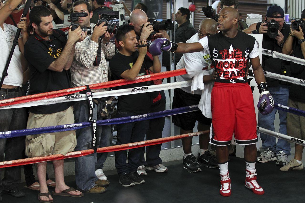 Mayweather abre las puertas de su gimnasio en Las Vegas