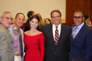 Alexis Ortíz, Omar Vizquel, Leopoldo Martínez y Luis Salazar
