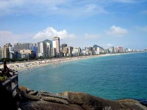 Playa de Ipanema en Brasil