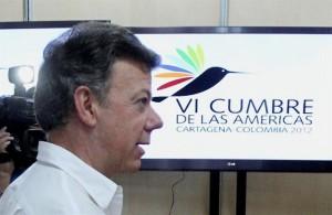 Presidente Santos Cumbre de las Américas