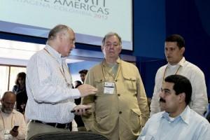 cancilleres de la VI Cumbre de las Americas