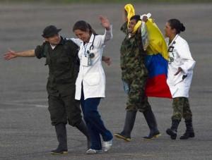 Rehenes liberados por las Farc
