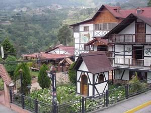 Tipica construcción de la Colonia Tovar