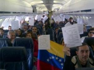 Venezolanos viajan a Canadá para inscribirse en el REP/ Foto @Kokovero