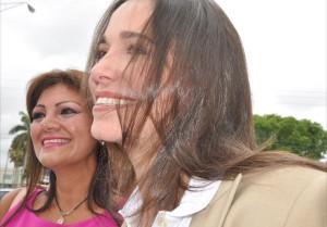 Dos bellas mujeres, Gabriela Mayaudón y MCM