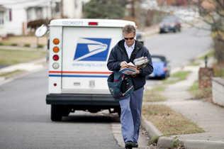 El servicio de correo en extinción
