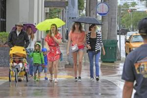 Lluvias en Florida