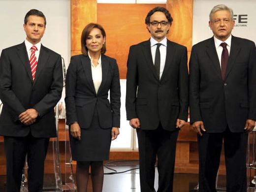 Candidatos presidenciales de México