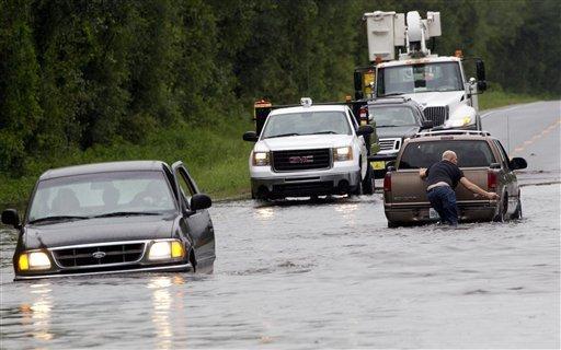 Innundaciones en Florida