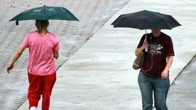 Lluvias en el Sur de la Florida