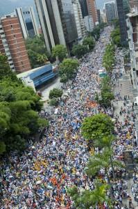 Marcha Capriles CNE