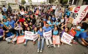 Activistas Downtown Los Angeles