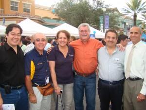 Fabio Andrade, Dr Laureano Chileuitt, Sandra Ramon, José Zambrano