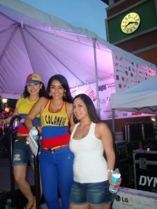 La belleza de Colombia y Venezuela se hizo presente