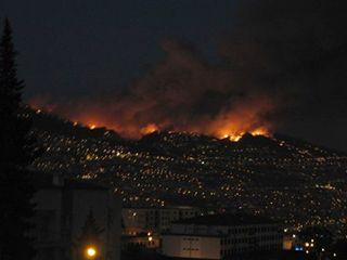 Incendio Madeira