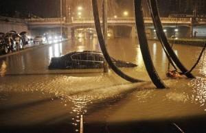 Innundaciones afectaron a Pekin