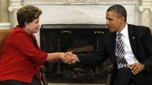 Rouseff y Obama