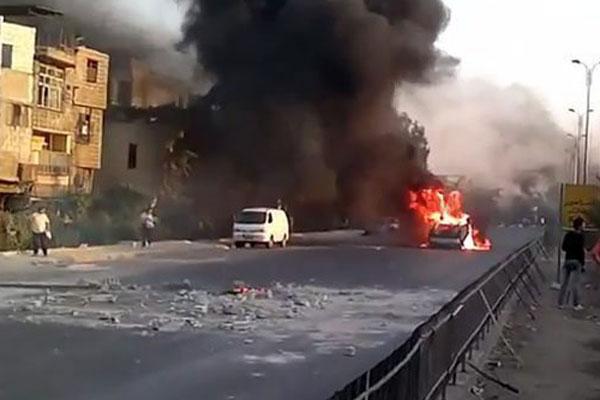 Siria en llamas
