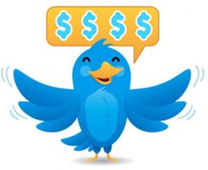 Twitter y dinero