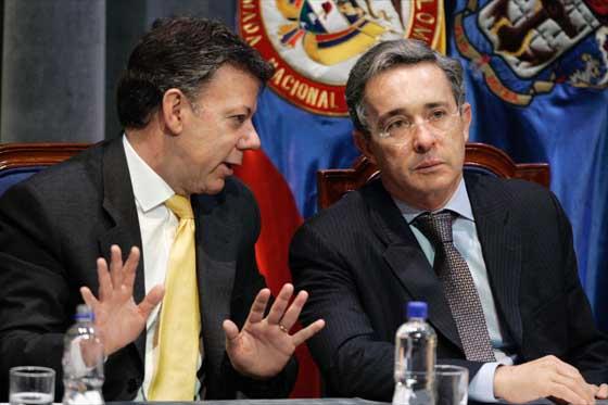 Santos y Uribe...eran otros tiempos
