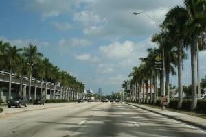 Calles en Miami
