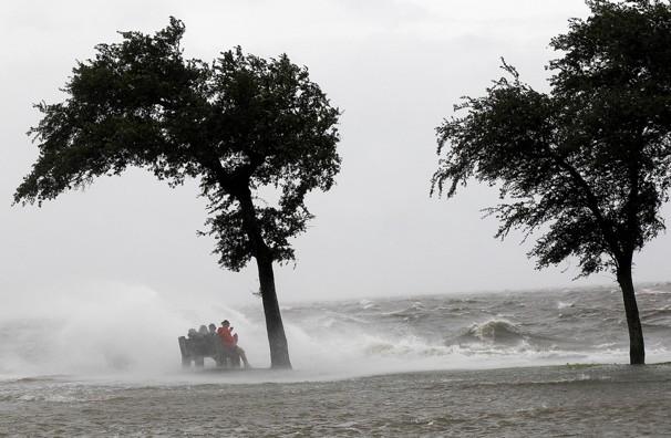 La fuerza del huracán Isaac