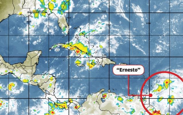 Tormenta tropical Ernesto