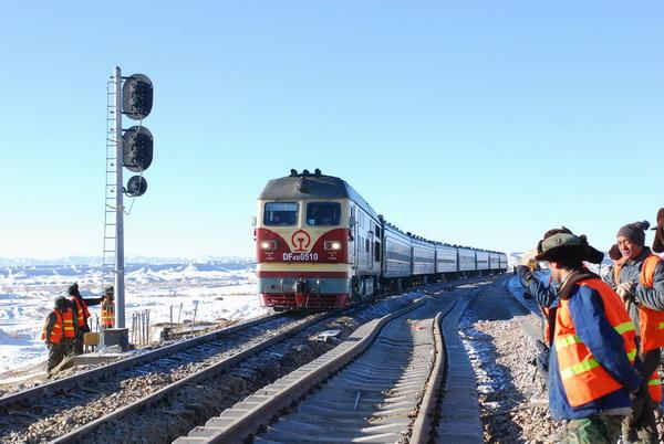 el ferrocarril Qinghai,